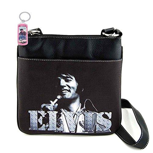 Elvis Presley Cross Body Bag (Black)