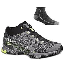 La Sportiva Men's Synthesis Mid GTX Hiking Shoes w/Socks