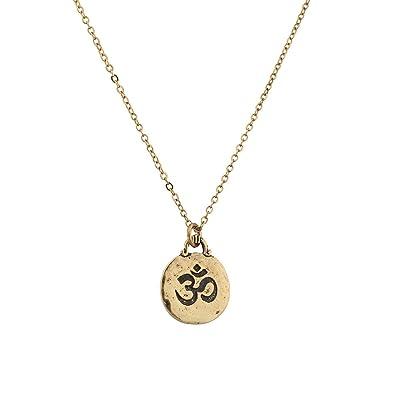 Lux Accessories Hinduism Symbol Aum Om Pratima Atman Brahman Soul