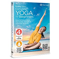 Internationally-acclaimed yoga instructor Rodney Yee guides you through four beginner yoga practices, each with a different benefit. Learn correct form, and move through a variety of simple poses and sequences that will help increase flexibil...