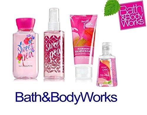 Bath & Body Works Sweet Pea Travel Size Gift Set Nourishing