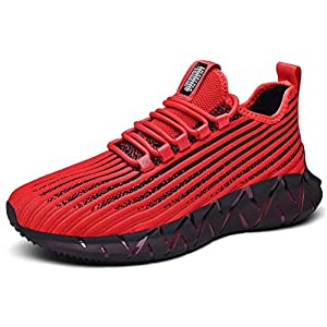 XIDISO Mode Chaussures de Sport Hommes Femmes Basket Running Compétition Training Sneakers