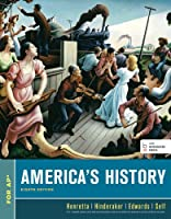 America's History, High School Edition, 8th Edition Front Cover