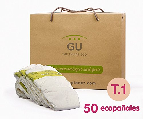 GU Pa/ñales Ecol/ógicos Desechables T1-50 Unidades