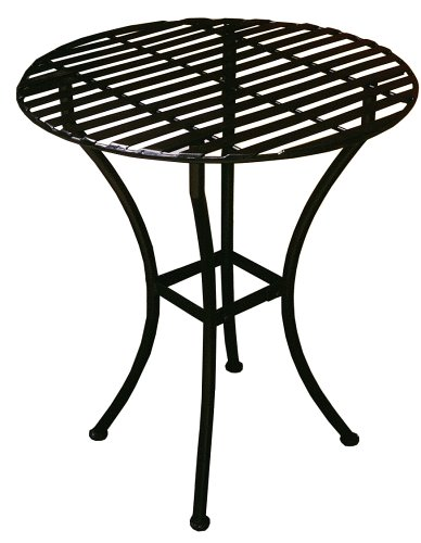 UPC 834205008550, PTC Home & Garden Bistro Round Table, Black