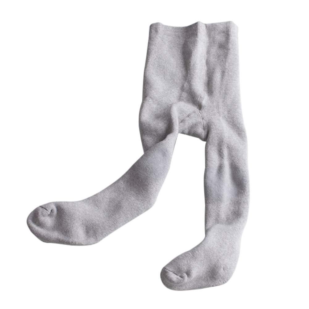 Hongyuangl Leggings Caldi Invernali Collant Addensato Bambini Neonata Leggings in Pile di Cotone Calza autoreggente 6-48 Mesi
