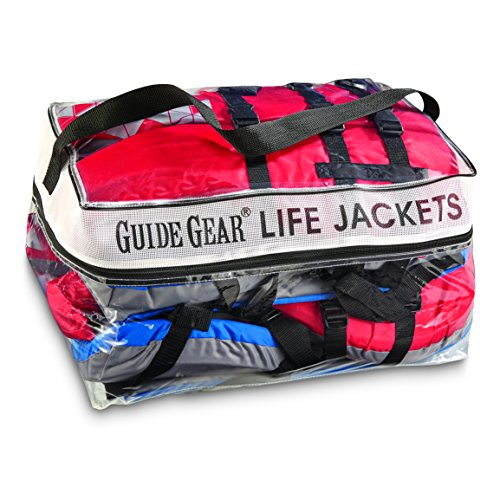 Guide Gear Type III Adult Universal Life Vests 4 Pack