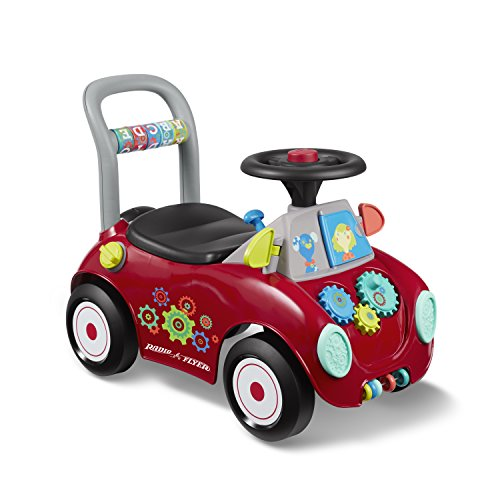 Check Out This Radio Flyer Busy Buggy, Red