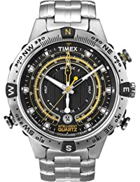 Timex Intelligent Quartz Mens Tide Temperature Compass Watch T2N738