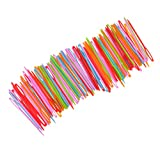 Dovewill 100 Pieces Colorful Plastic Needles
