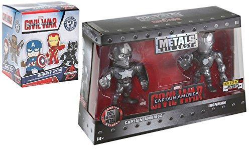 Marvel Metals Series Civil War Captain America & Iron-Man Exclusive + Funko Mystery Minis Civil War Blind Box