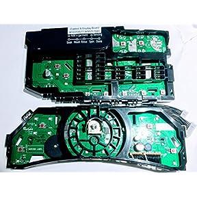 Whirlpool Duet Washing Machine User Control & Display Board W10251577 W10251580