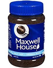 MAXWELL HOUSE Half Caff Instant Coffee, 150g, 150.0 Grams