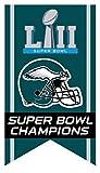 Philadelphia Eagles Pin Banner Design Super Bowl 52 Champs