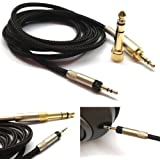 NewFantasia Replacement Audio Upgrade Cable for Sennheiser HD598 / HD558 / HD518 Headphones 1.2meters/4feet