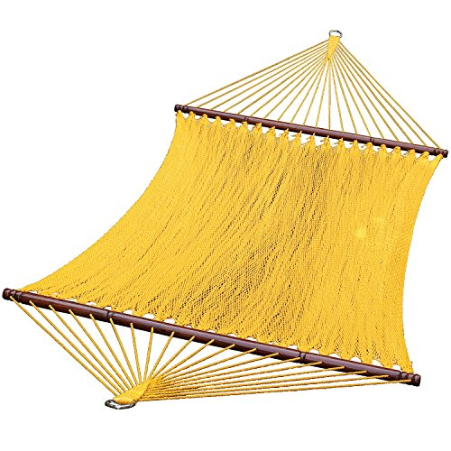 Algoma 13 Foot Yellow Caribbean Hammock, 4910Y