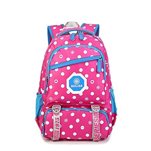 d45ca7520500a Wasserdichter Schulrucksack Schulranzen Schultasche Sports Rucksack  Freizeitrucksack Daypacks Backpack für Mädchen Jungen Kinder Damen Herren  Jugendliche