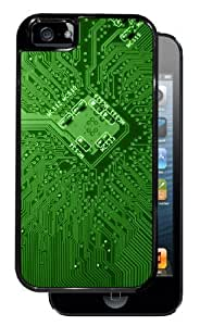 New Style Circuit Board - Black iPhone 5 Dual Protective Durable Case