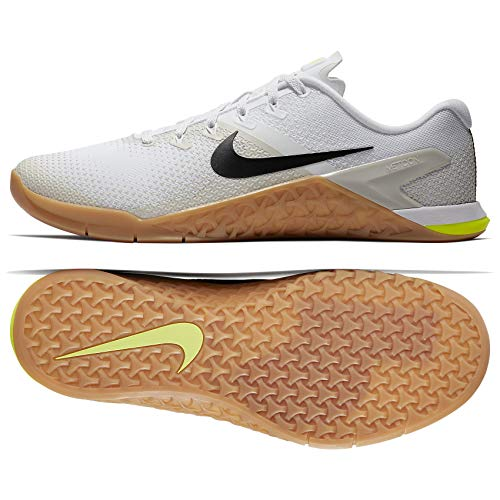 Bone Mens Black - Nike Metcon 4 AH7453 100 White/Black/Light Bone Men's Training Workout Shoes (15)