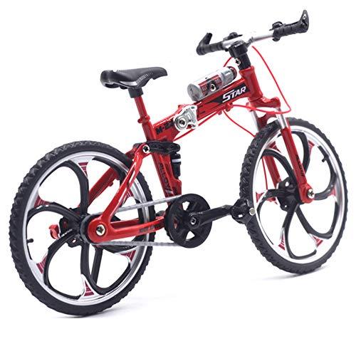 [해외]Gnc33Ouhen 110 Scale Finger Mountain Bike MTB Racing Mini Bicycle Model Cool Boy Toy Decoration Crafts for Home - Red / Gnc33Ouhen 110 Scale Finger Mountain Bike MTB Racing Mini Bicycle Model Cool Boy Toy Decoration Crafts for Home...