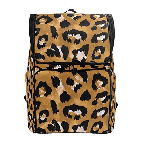 CANCAKA Backpack Seamless Endless Hand Drawn Watercolor Animal Lightweight Travel Bag Hiking Knapsack College Student School Bookbag Travel Daypack for men -