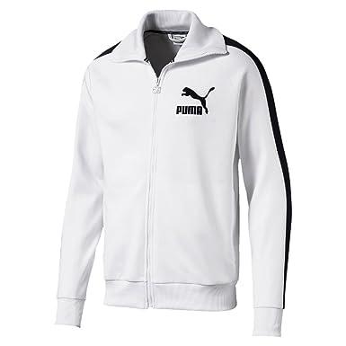 Puma Veste T7 Vintage Blanc  Amazon.fr  Vêtements et accessoires 9e43d31d108