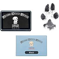 Pet Paw Print Kit - Non Toxic Ink Pad for Pets (Black)