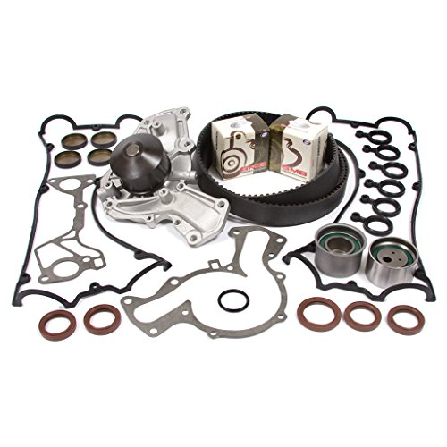 91-99 Dodge Mitsubishi Turbo 3.0 DOHC 24V 6G72 6G72T Timing Belt Kit Water Pump Valve Cover Gasket
