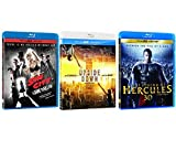 Blu-Ray 3D 3-Pack eOne Films [Sin City A Dame To Kill For, The Legend of Hercules, Upside Down]