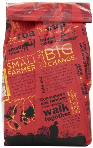 Equal Exchange Organic Coffee, French Roast, Ground, 10-Ounce Bag