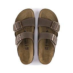 Birkenstock Arizona MOCHA Birkibuc Sandal - EU Size 36 / Women\'s US Size 5-5.5