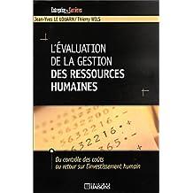 evaluation de la gestion des ressources humaines