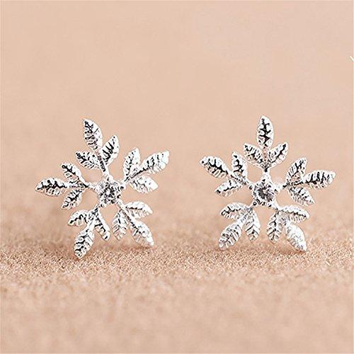 a3174b0a7f56 Envio gratis Luckyfree Tornillos de oreja de plata pura chica Aretes de  Plata 925 Joyas tornillos