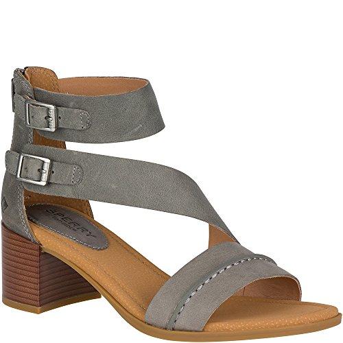 Sperry Top-Sider Women's Adelia York Heeled Sandal Grey original cheap online H8GvW