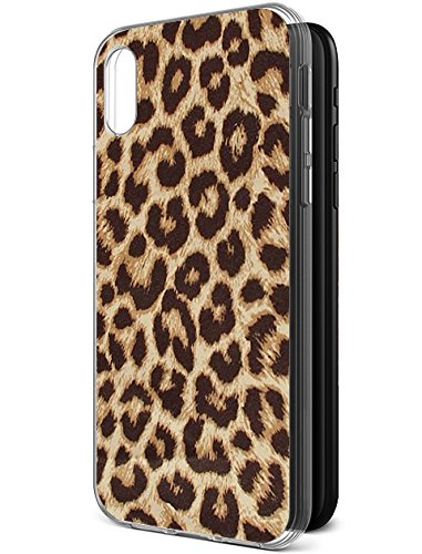 lowest price d6976 7b580 Protective Case for iPhone Xs/iPhone X(iPhone 10) Leopard Print