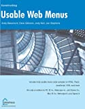 img - for Usable Web Menus (Constructing) book / textbook / text book