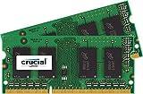 New Crucial 16GB Kit (8GBx2) DDR3/DDR3L-1600 MHz (PC3-12800) CL11 204-Pin SODIMM Memory for Mac CT2K8G3S160BM / CT2C8G3S160BM