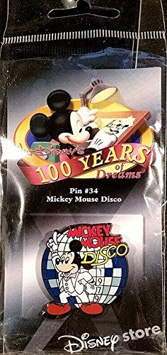 (Disney 100 Years of Dreams - Mickey Mouse Disco 1979 - Pin #34)