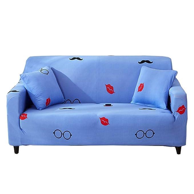 CHYOOO Funda De Sofa Sofá De Protección Antiarrugas ...