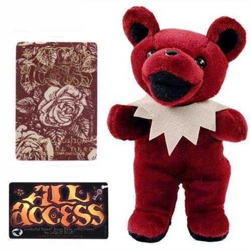 Grateful Dead - Bean Bear - All Access Limited Edition by Old Glory (Greatful Dead Bear)