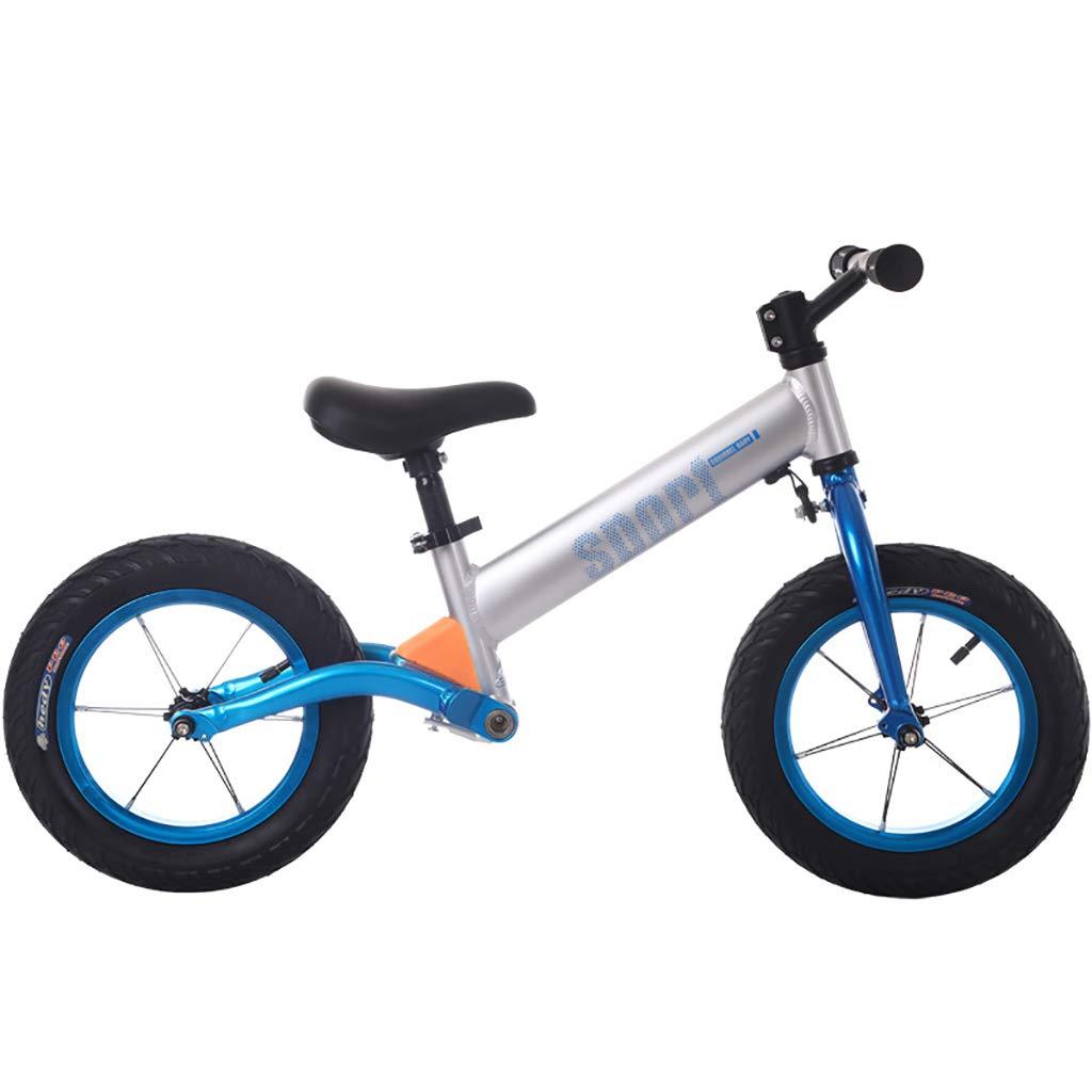 TCBIKE Senior Laufrad lauflernrad, Kein Pedal Ultra cool Farbe einstellbar Fahrt auf Spielzeug Baby Walker Sport Training Fahrrad Für im Alter von 2 bis 6 Jahre alt-A B