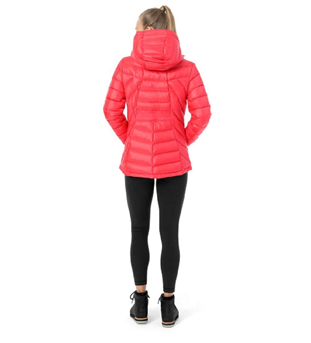 SPYDER Women/'s Syrround Hoody Waterproof Down Jacket for Winter Sports