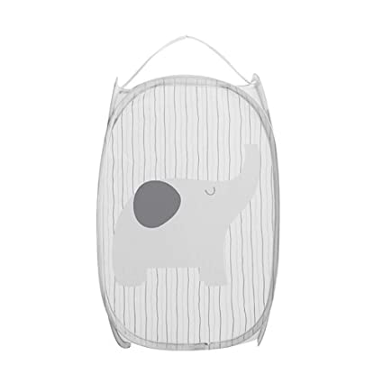 Mome 🍓Laundry Basket🍓1PC Cartoon Foldable Pop Up Washing Laundry Basket Bag, Hamper