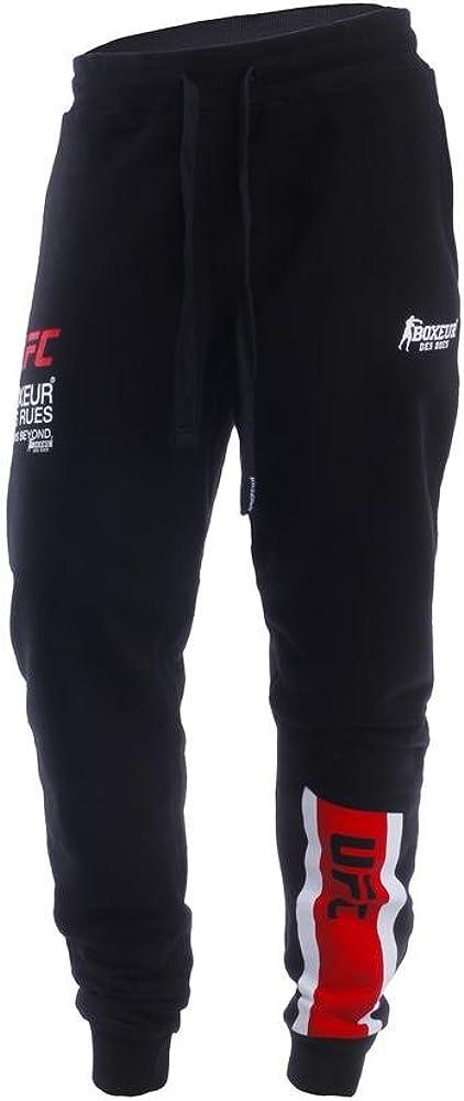 BOXEUR DES RUES Bx-1807h Pantalón con Logotipo UFC, Hombre, Negro ...