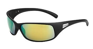 Bollé retroceso negro mate gafas/polarizado Marrón esmeralda OLEO AF lente 11809