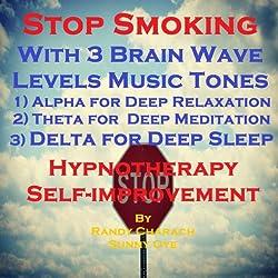 Stop Smoking with Three Brainwave Music Recordings