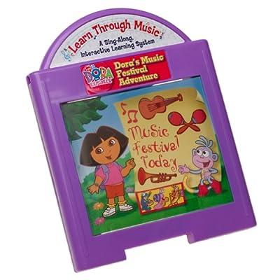 Learn Through Music: Dora's Music Festival Adventure Cartridge: Toys & Games