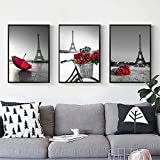 Donet Printed Oil Painting 3 Panels, Frameless Colorful Painting Home Decorations, Living Room, Hotel(3 Sizes)