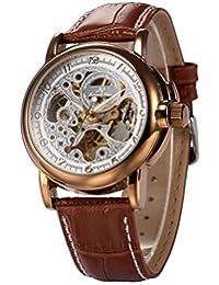 KS Automatic Mechanical Analog Waterproof Men Stainless Steel Case Classic Watch KS037