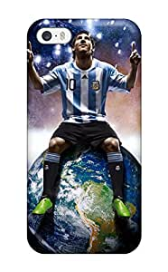 Waterdrop Snap-on Leo Messi Case For Iphone 5/5s